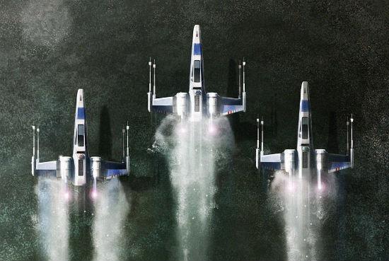 Andy Fairhurst - Star Wars Force Awakens header