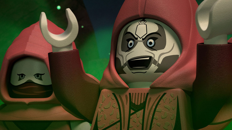 """Mother Talzin as seen in the upcoming  """"LEGO Star Wars Terrifying Tales"""" Disney+ special"""