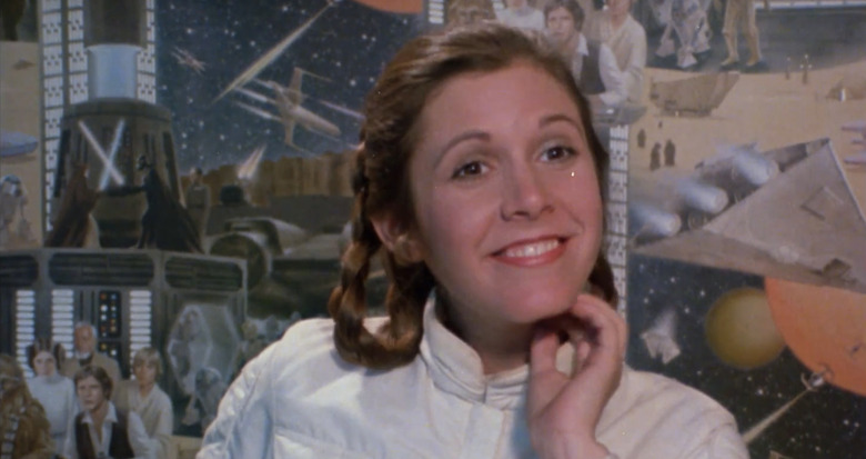 Star Wars Celebration Carrie Fisher Tribute