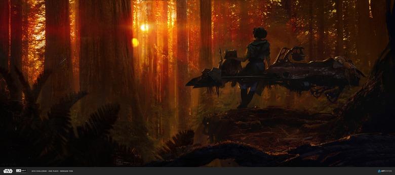 ILM Art Department Challenge Star Wars Concept art