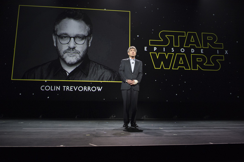colin trevorrow directing Star Wars Episode 9