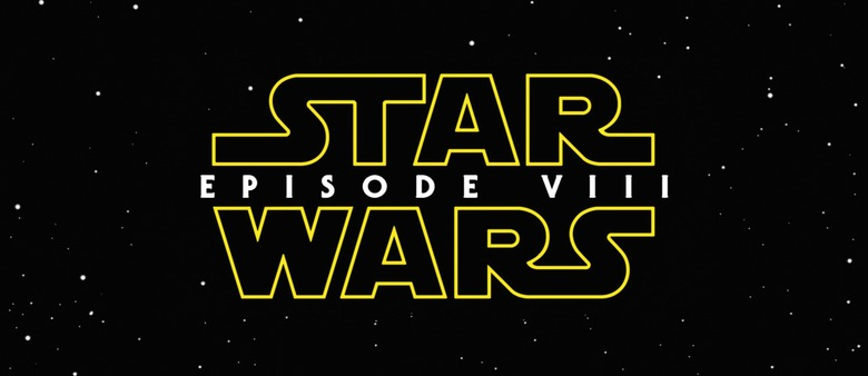 Star Wars Episode VIII Opening