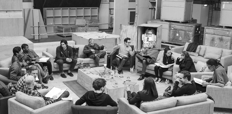 Star Wars Episode 7 Table Read high res