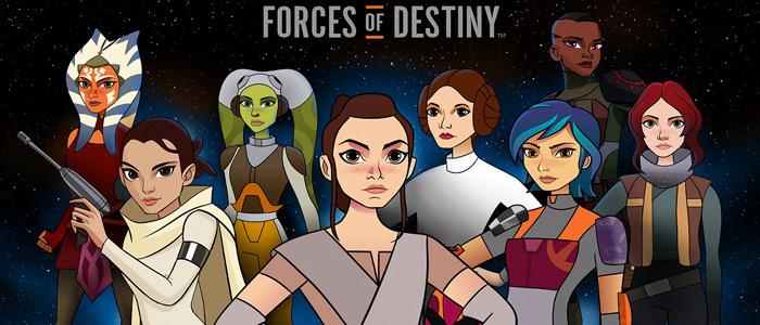 Star Wars Forces of Destiny trailer