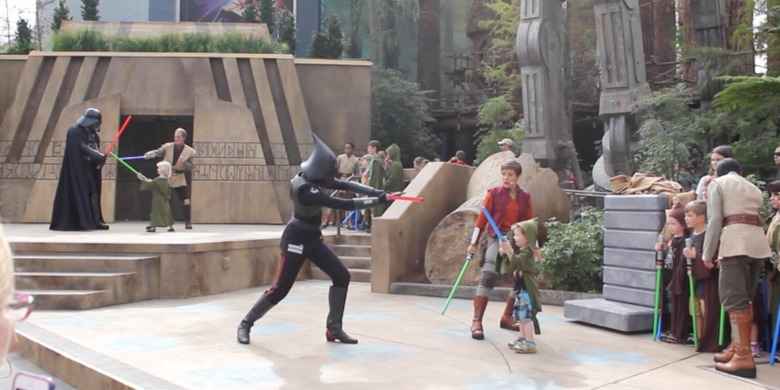Star Wars Jedi Training: Trials of the Temple Show