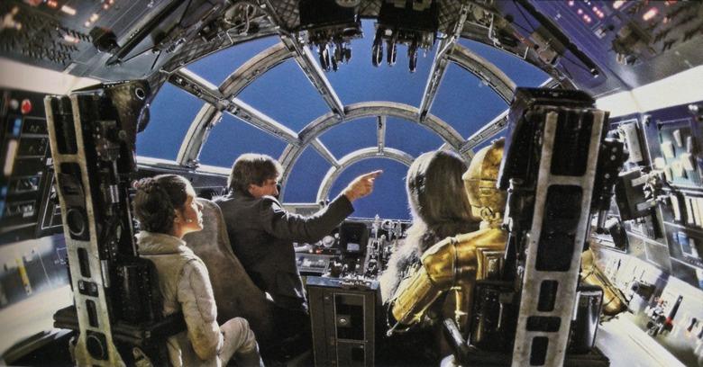 Star Wars Land ride photo