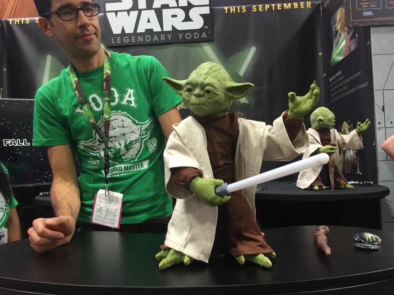 Star Wars Legendary Yoda From Spinmaster