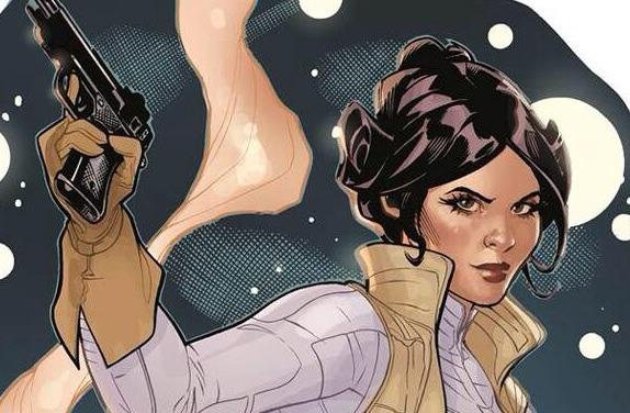 Star Wars Princess Leia comic book