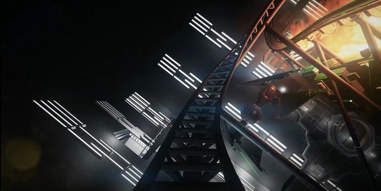 star wars roller coaster
