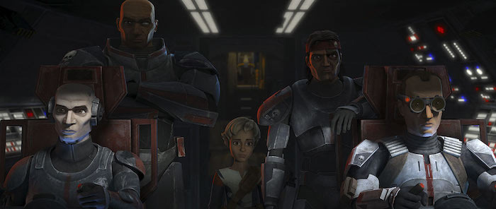 Star Wars The Bad Batch War-Mantle Breakdown