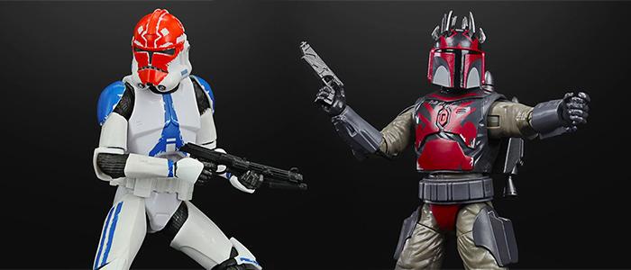 Star Wars: The Clone Wars Black Series Figures