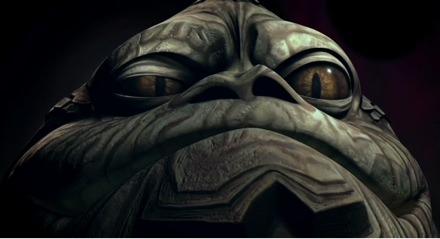 Jabba The Hutt in Star Wars: The Clone Wars