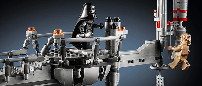 Star Wars: The Empire Strikes Back LEGO Bespin Duel