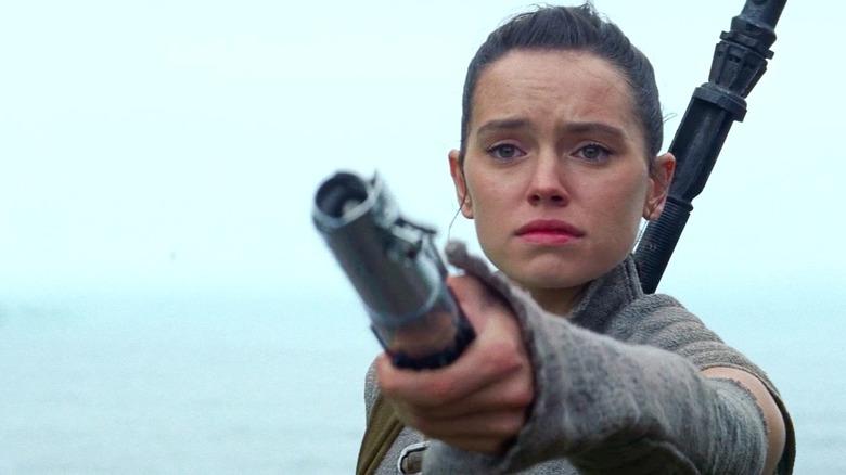 Star Wars The Force Awakens ending