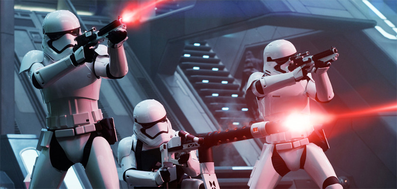 The Force Awakens Stormtroopers Voices