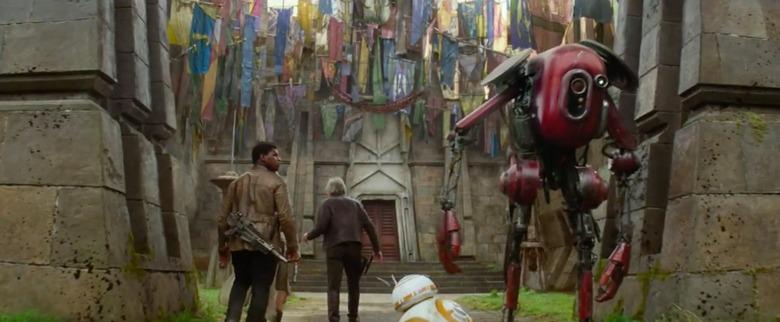 Maz Kanata's castle Star Wars: the Force Awakens