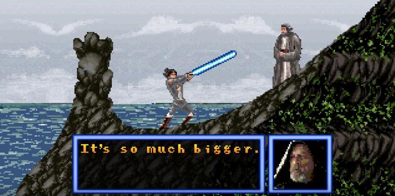 Star Wars The Last Jedi 8-Bit Trailer