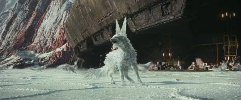 star wars the last jedi crystal foxes