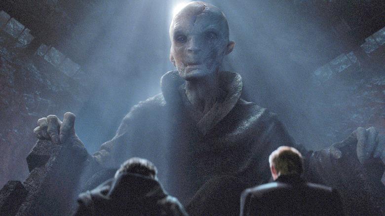 Star Wars The Last Jedi Snoke Rumors