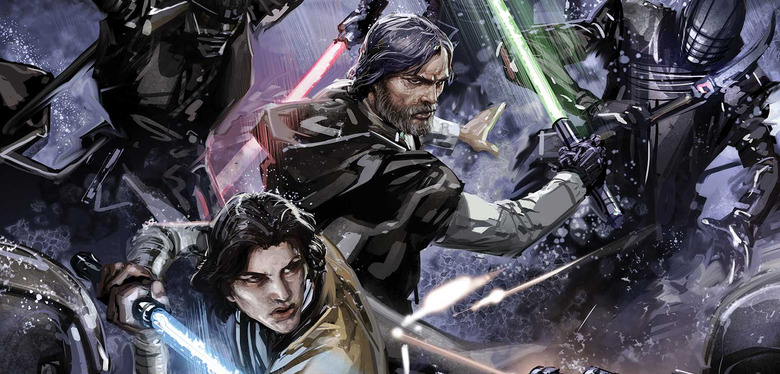 Star Wars: The Rise of Kylo Ren Comic