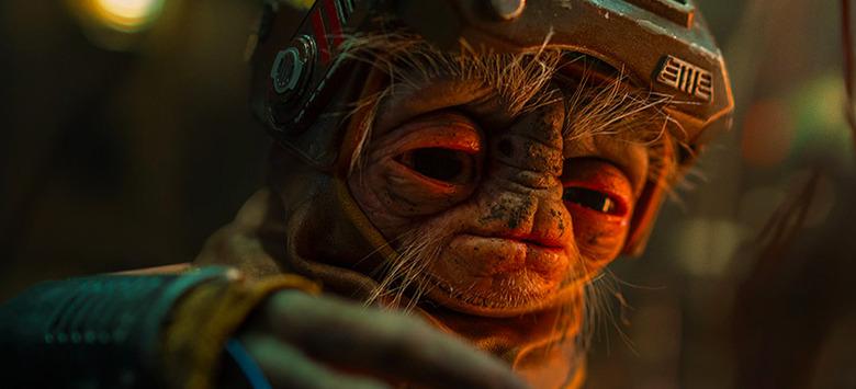 Star Wars: The Rise of Skywalker Babu Frik Photo