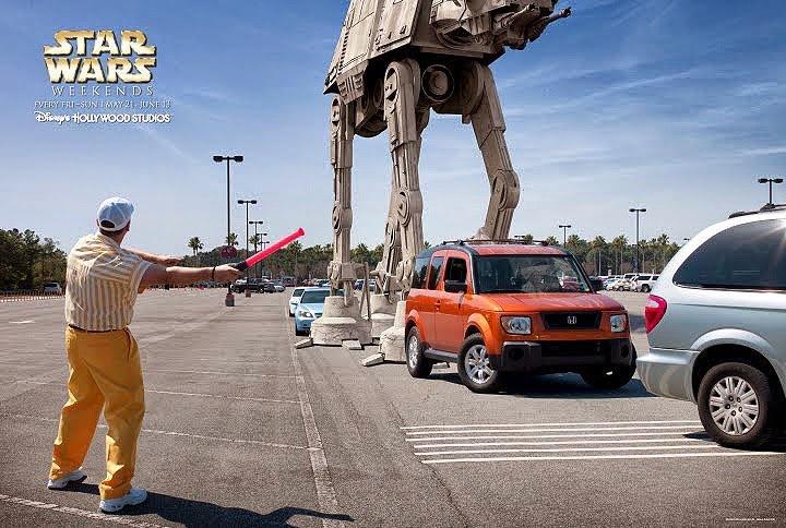 Star Wars Theme Park Rides
