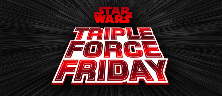 Star Wars Triple Force Friday Locations