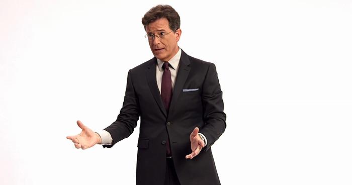 Stephen Colbert trailer
