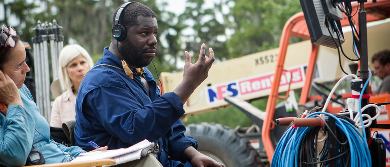 Steve McQueen directing 12 Years a Slave