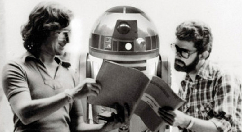 steven Spielberg force awakens
