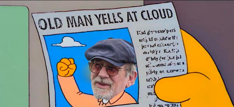 Spielberg hates Netflix