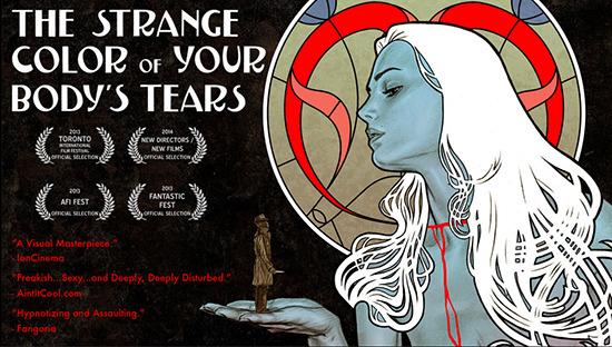 Strange Colour of Your Body's Tears US trailer