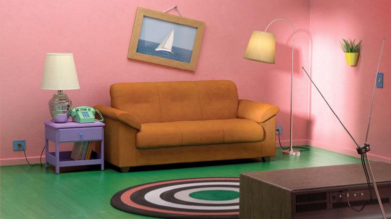 The Simpsons IKEA Living Room
