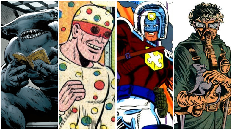 Suicide Squad 2 Characters