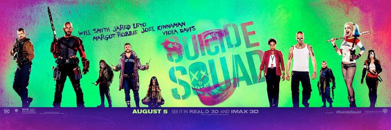 Suicide Squad IMAX Countdown