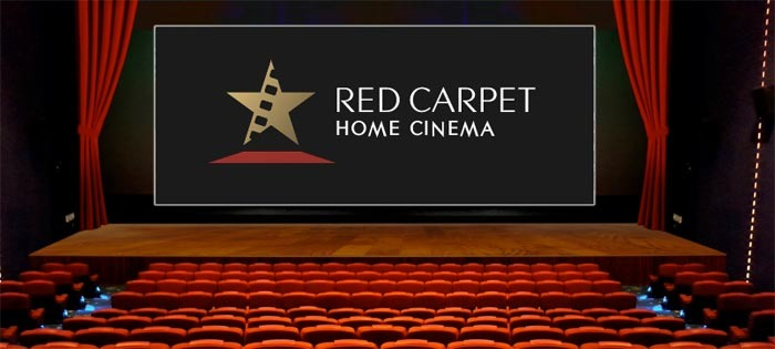 Red Carpet Home Cinema Streaming Theatrical Releases at Home