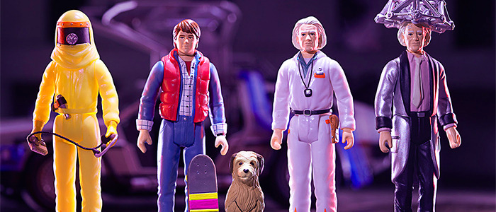 Super7 Back to the Future ReAction Figures