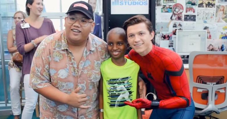 Spider-Man: Homecoming - Tom Holland Visits Children's Hospital