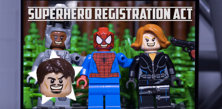 Captain America: Civil War LEGO