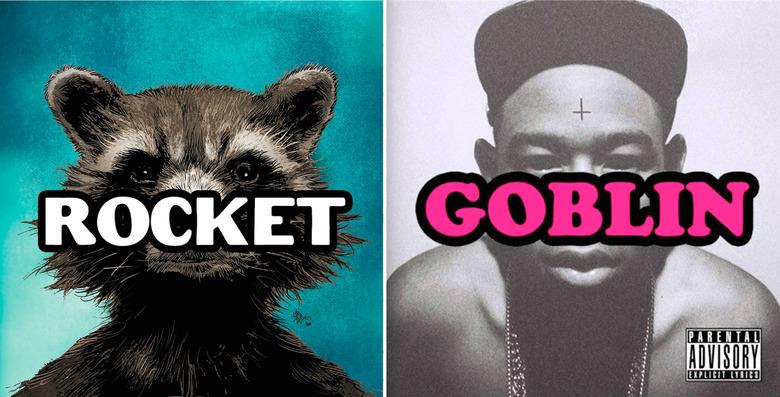 Rocket Raccoon Hip-Hop Variant Cover