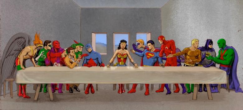 The Last Supper DC Comics