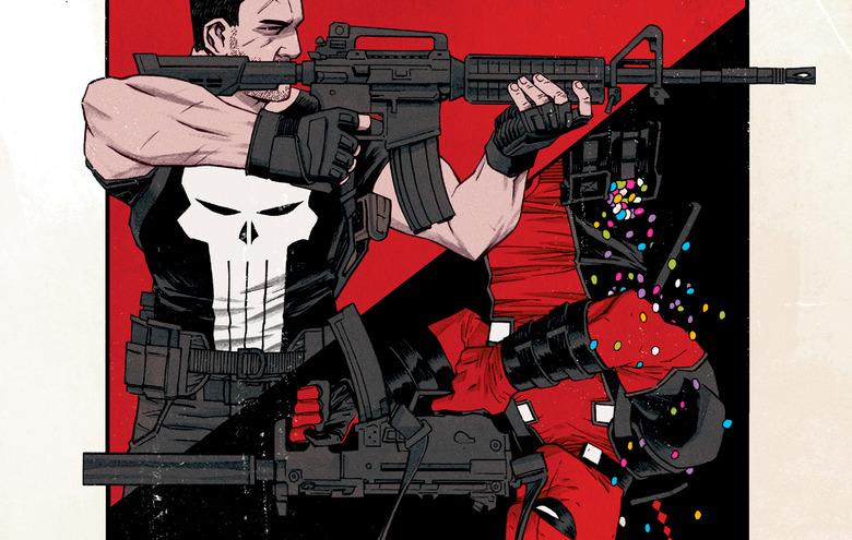 Deadpool vs The Punisher Comic
