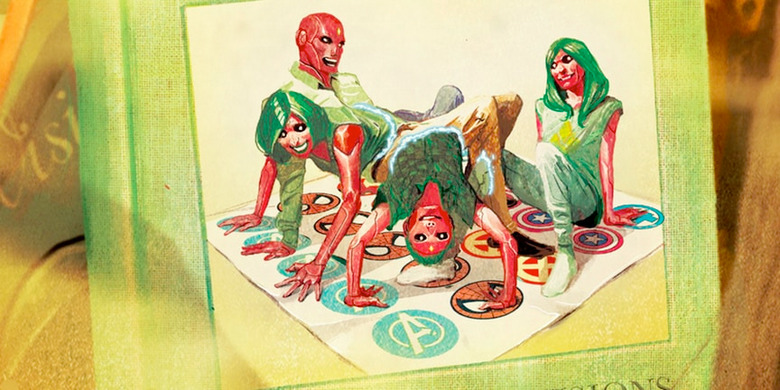The Vision Comic Twister