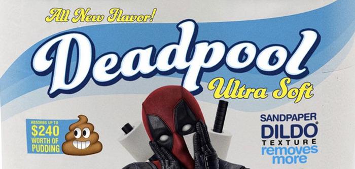Deadpool Toilet Paper