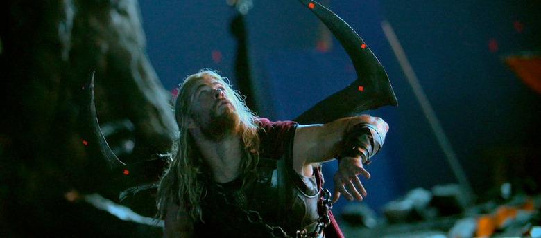 Thor Ragnarok Set Photo