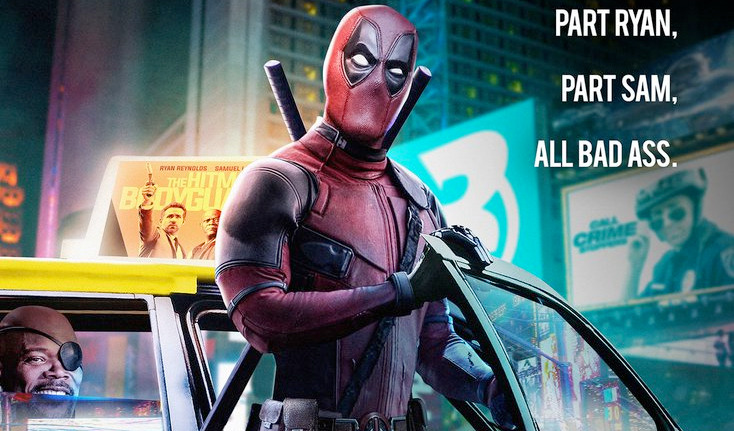 Hitman's Bodyguard - Deadpool Poster