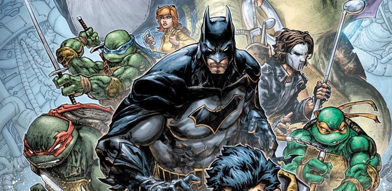 Batman and Teenage Mutant Ninja Turtles Crossover Comics