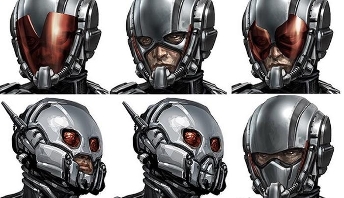 Ant-Man Helmet Concept Art