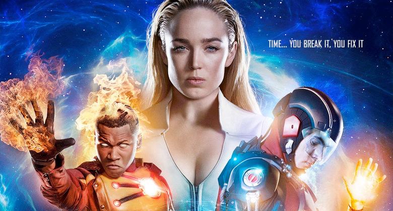 DC's Legends of Tomorrow Season 3 Poster