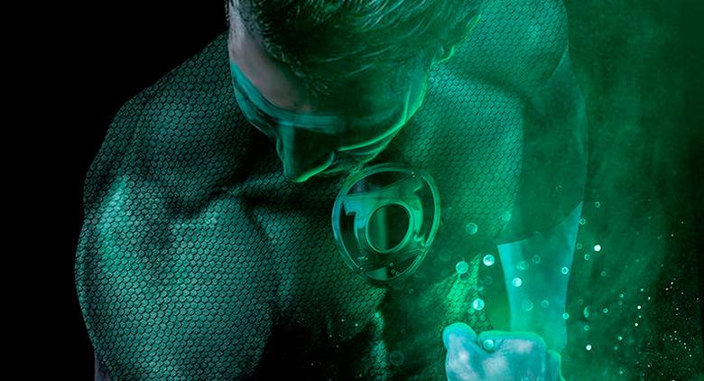 Green Lantern - Boss Logic Poster